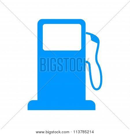 Gasoline Pump Nozzle Sign. Gas Station Icon.