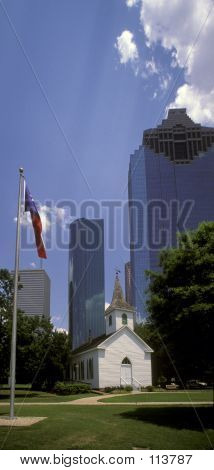 Downtown Houston, Texas From Sam Houston House