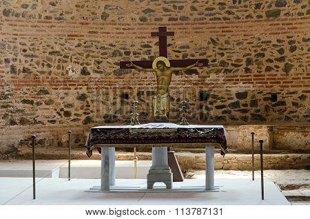 Altar In The Rotunda Of St. George, Thessaloniki, Greece
