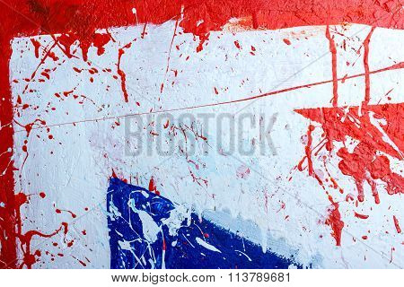 Backgrounds Collection - Blots And Stains Of Paint