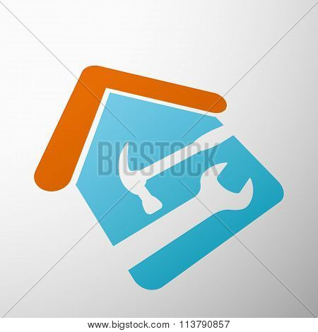 Industrial Tools. Stock Illustration.