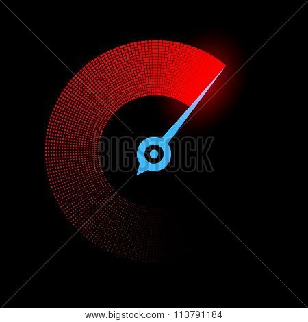 Stopwatch. Stock Illustration.