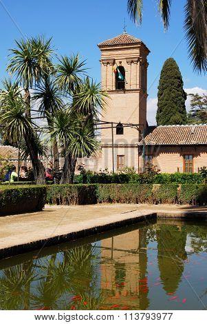 Alhambra Palace parador, Granada.
