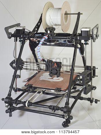 Open Source 3d Printer Prototype