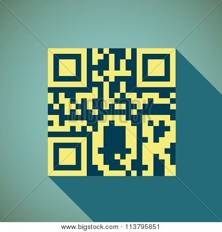 Gr Code. Stock Illustration.