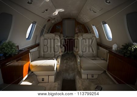Airplane Interior