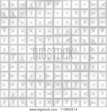 Raster Seamless Greyscale Subtle Gradient Square Tiling Geometric Square Pattern
