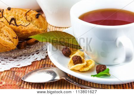 Cup Of Tea And Cakes