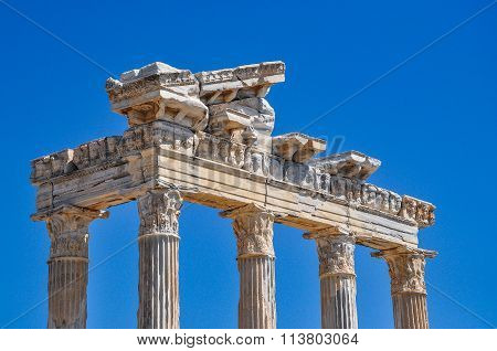 Apollo Temple in Side, Turkey