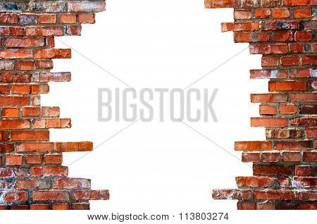 White Hole In The Brick Wall