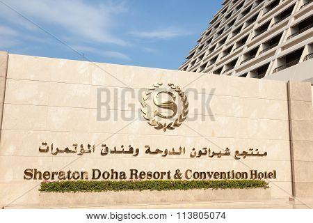 Sheraton Hotel In Doha, Qatar