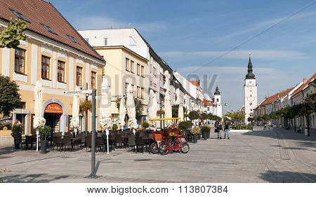 View Of Main Square From Historic Town Trnava