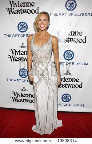 Arielle Kebbel at the Art Of Elysium's 9th Annual Heaven Gala held at the 3LABS in Culver City, USA on January 9, 2016.