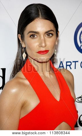 Nikki Reed at the Art Of Elysium's 9th Annual Heaven Gala held at the 3LABS in Culver City, USA on January 9, 2016.
