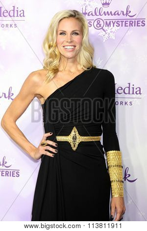 LOS ANGELES - JAN 8:  Brooke Burns at the Hallmark Winter 2016 TCA Party at the Tournament House on January 8, 2016 in Pasadena, CA
