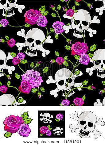 Skull&roses.eps