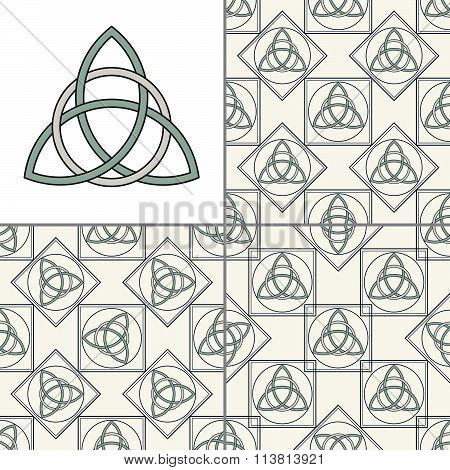 Celtic Knot Seamless Pattern