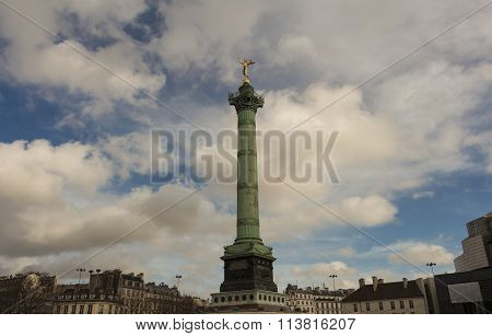 The July Column, Paris, France.
