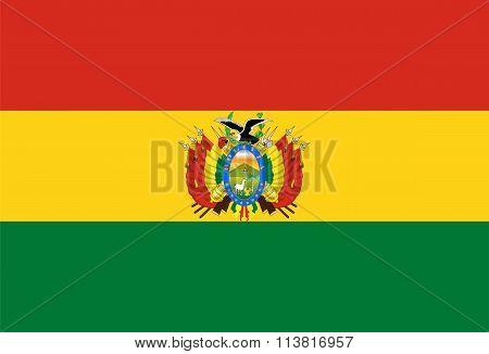 Standard Proportions For Bolivia Flag