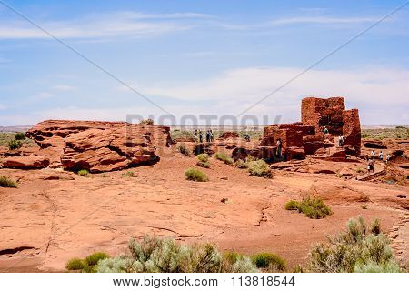 The Wupatki Pueblo
