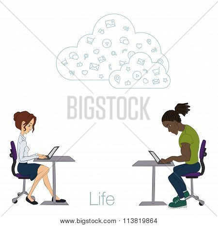 Cloud technologies, services for work and life