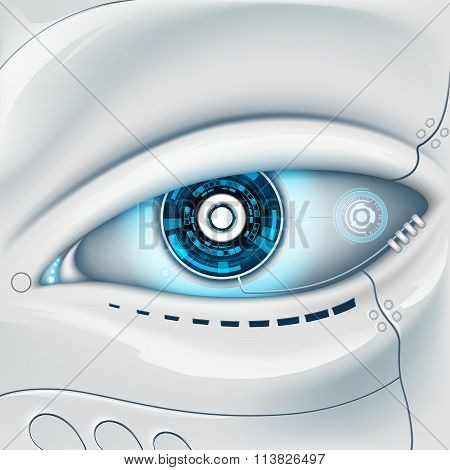 Eye Of The Robot.
