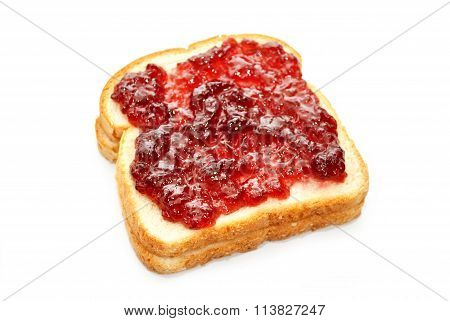 Grape Jelly On White Bread