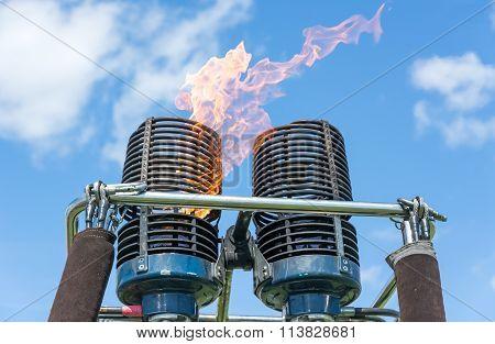 Hot Air Balloon Burners.
