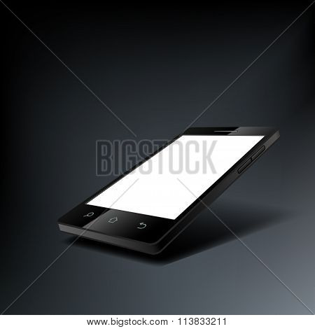 Smartphone With A White Screen