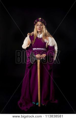 Noblewoman With An Axe