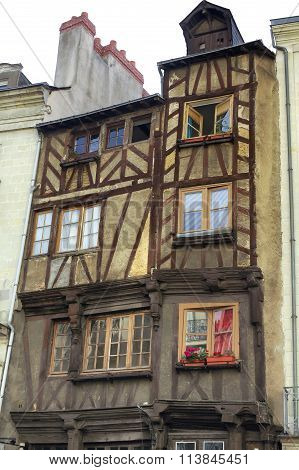 Nantes: Half-timbered Buildings