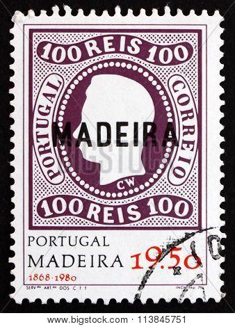 Postage Stamp Portugal 1980 King Luiz