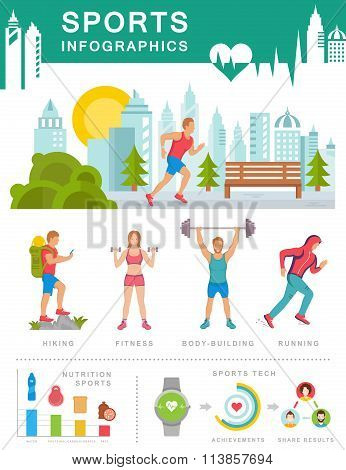 Vector Sports Infographics