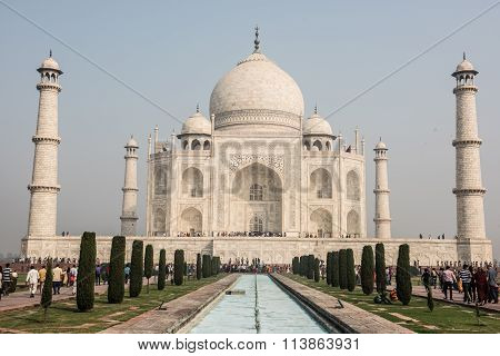 Taj Mahal from Front