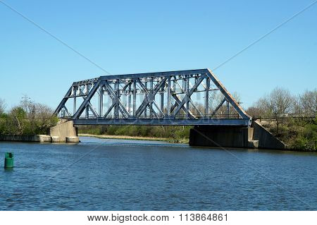 Railroad Bridge over the I&M Canal
