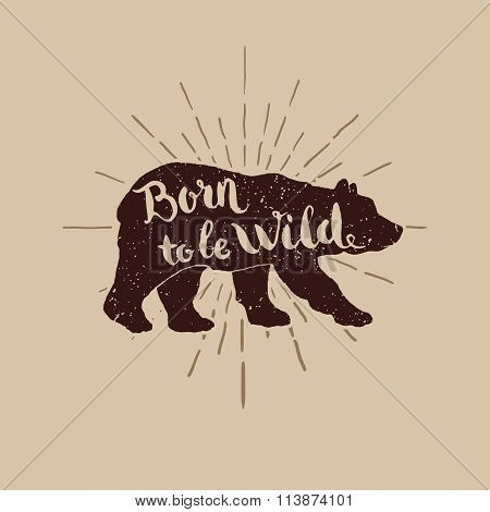 Birn Wild Illustration For T-shirt