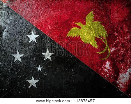 Papua New Guinea Grunge