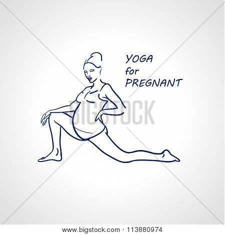 Yoga For Pregnant Woman.
