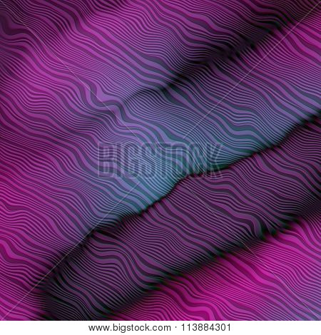 Soft Abstract Cloth Lines