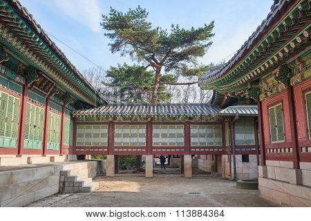 Passage Between Gyeonghungak And Daejojeon