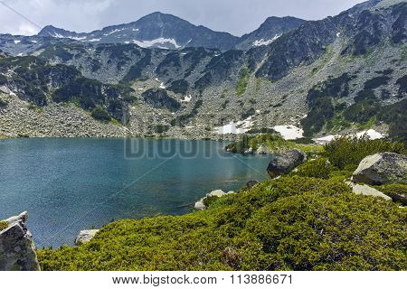 Amazing Landscape of Banderishki Chukar Peak and The Fish Lake, Pirin Mountain