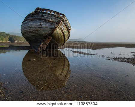 Dulas estuary ship wreck