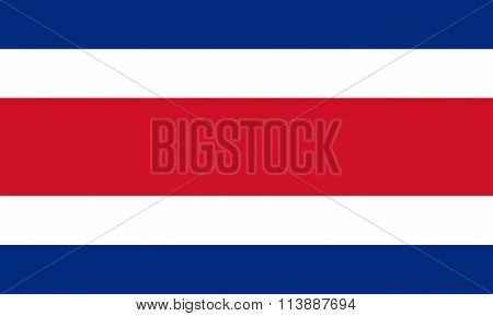 Republic of Costa Rica National Flag