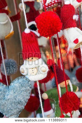 Cute Colorful Handmade Doll