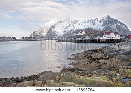 Svolvaer Fishing Port In The Lofoten Islands  -3