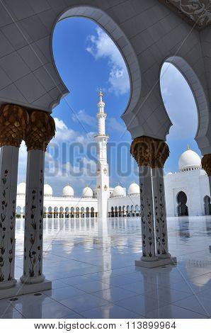 Minaret, Grand Mosque AbuDabhi