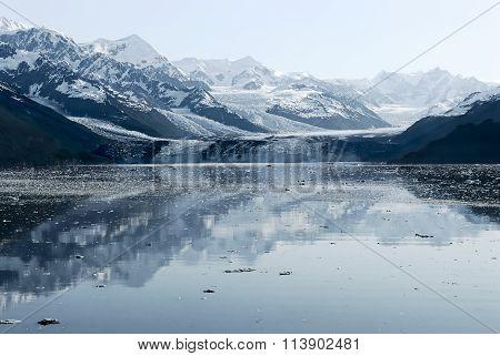 Harvard Glacier at College Fjord, Prince William Sound, Alaska