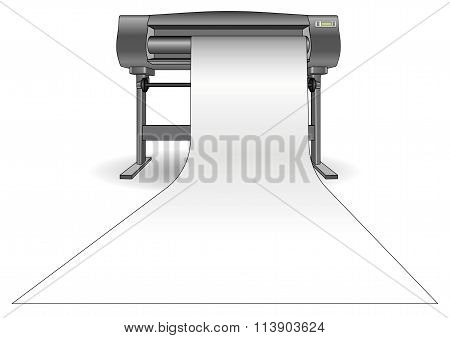 Plotter Printing Paper Horizontal