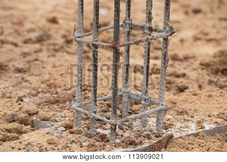 Building Pillar For Home Construction