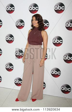 LOS ANGELES - JAN 9:  Bellamy Young at the Disney ABC TV 2016 TCA Party at the The Langham Huntington Hotel on January 9, 2016 in Pasadena, CA
